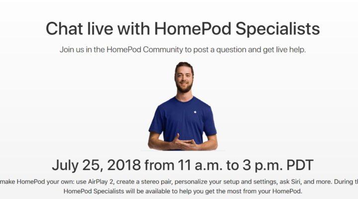El evento de HomePod de preguntas y respuestas en directo de Apple