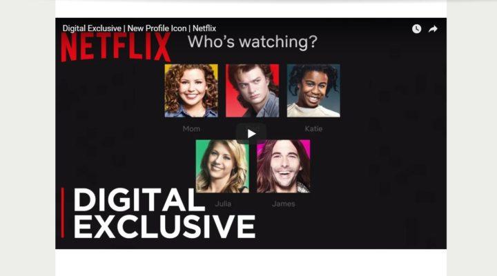 Los iconos del perfil de Netflix se renovarán