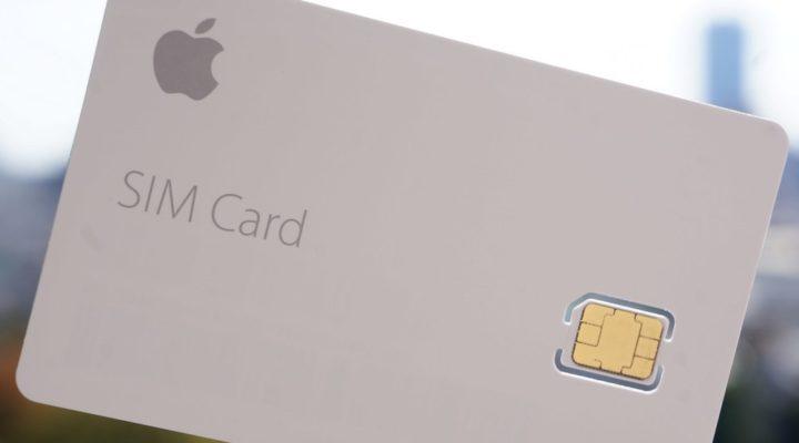 SIM card de Apple