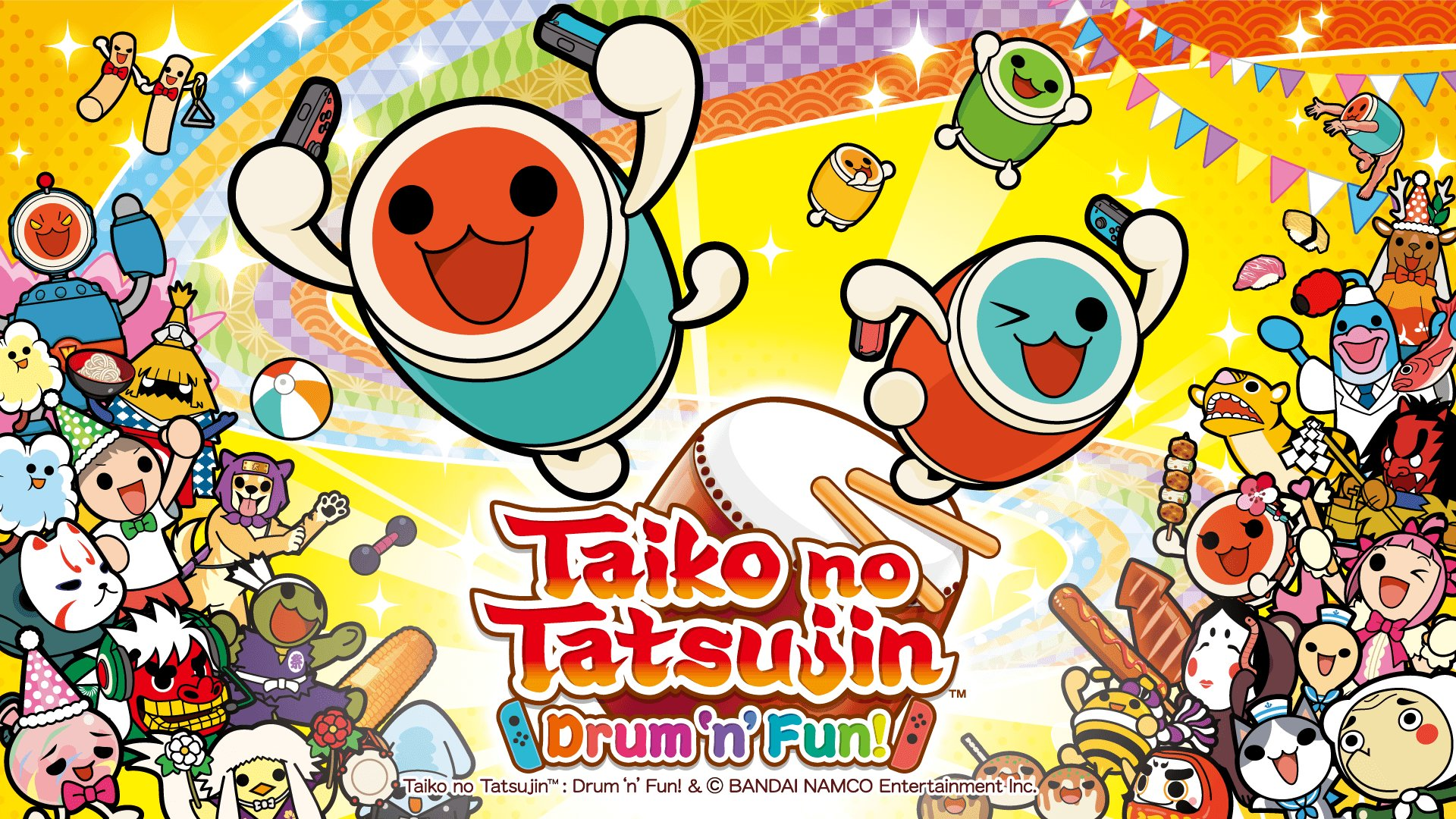 Taiko No Tatsujin para Play4 y Switch. ¿Sí o no llegan?