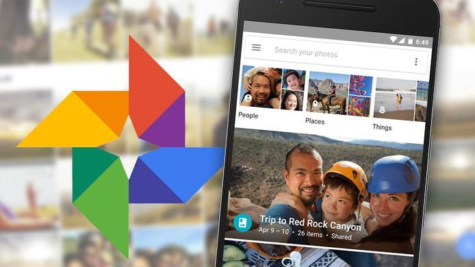 Google Photos 4.0 con material Diseño y nuevo gesto de deslizar el dedo