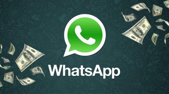 Realizar los pagos con WhatsApp