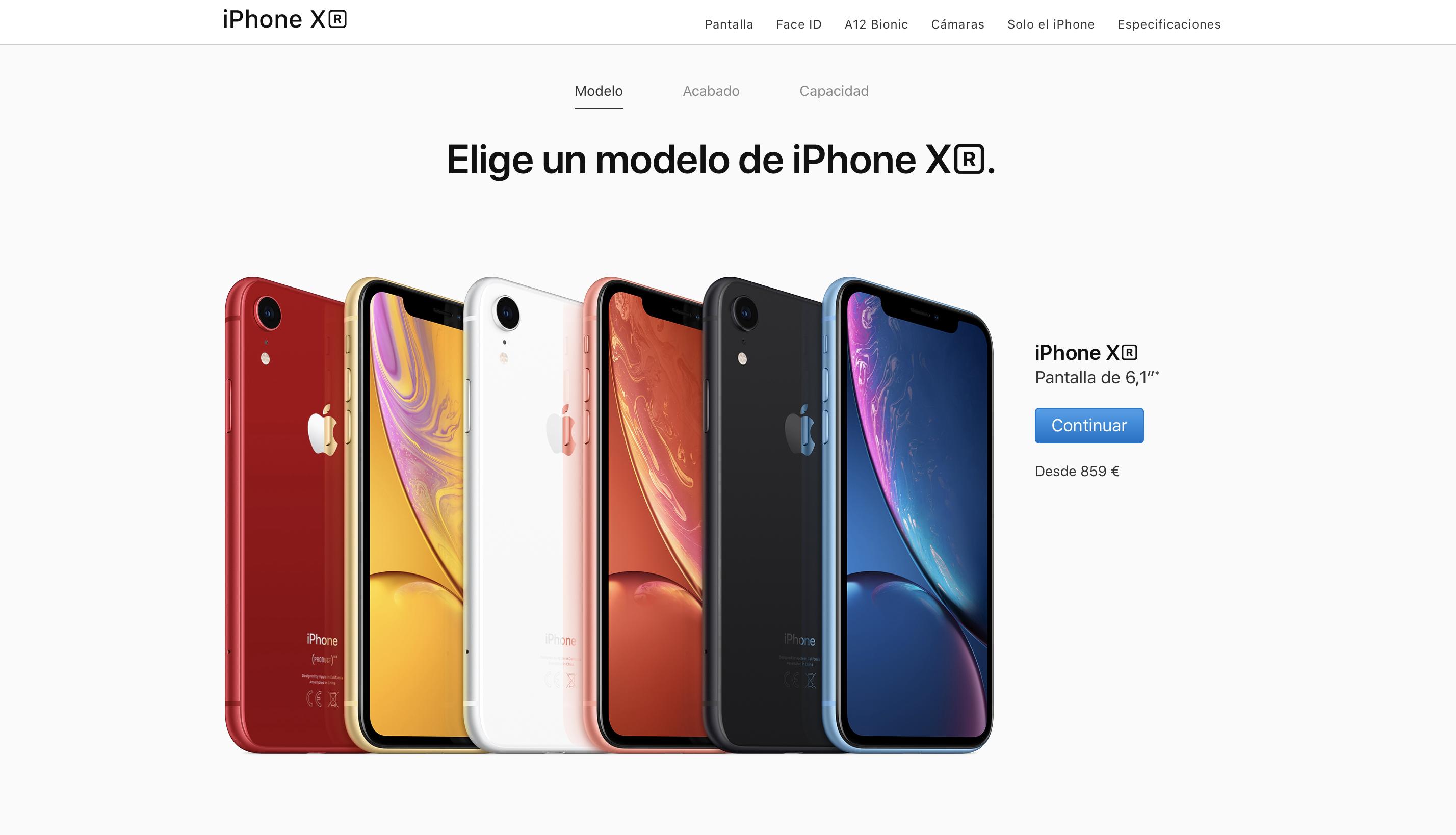 ¿Hay mucho stock del iPhone XR o simplemente no se está vendiendo?