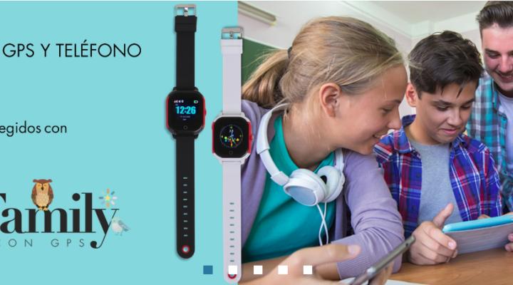 Reloj con GPS para niños y adultos. Más que un reloj