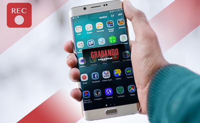 Formas de grabar la pantalla del móvil