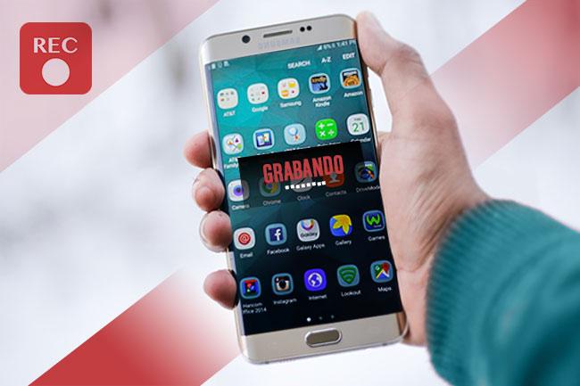 Grabar pantalla móvil