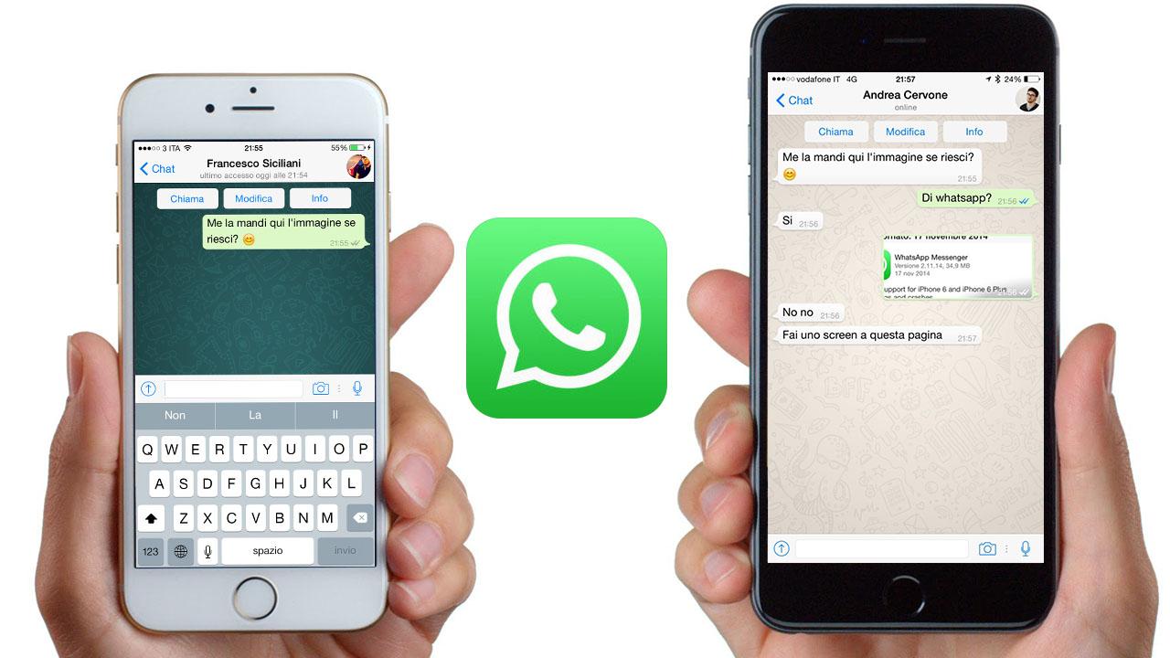 Novedades de WhatsApp en iOS