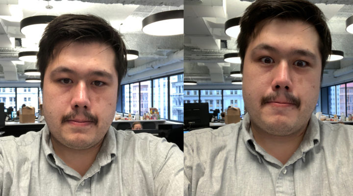 Mejora de calidad de los selfies en iPhone