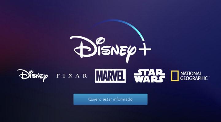 Disney+: el nombre del servicio streaming de Disney