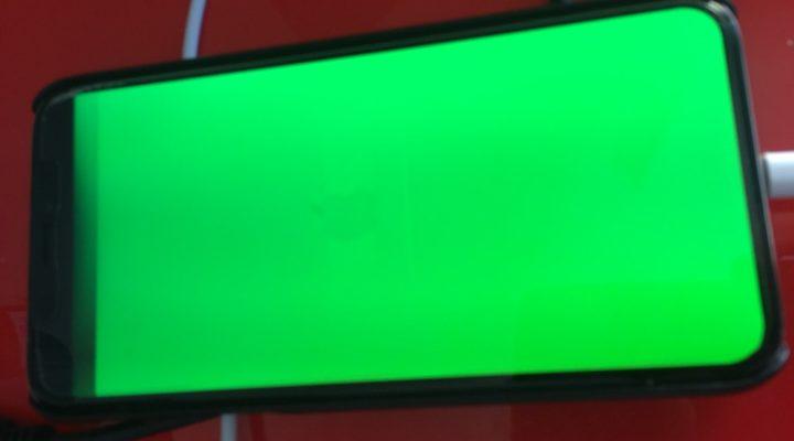 Soluciones para la pantalla verde del iPhone