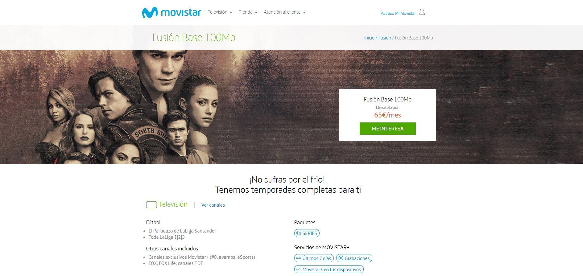 Movistar 100 Mb