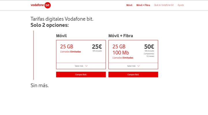 Nace Vodafone bit: precios ultrabaratos