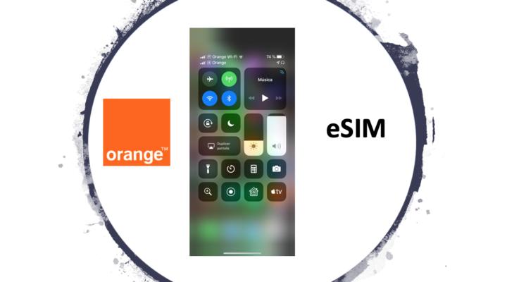 Ya tenemos activa la eSIM en el iPhone con Orange