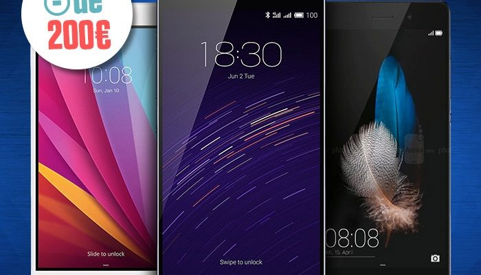 Smartphones 200€