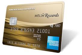 Tarjeta American Express Meliá Rewards, gana dinero comprando.