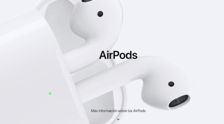 Los nuevos AirPods ya están aquí