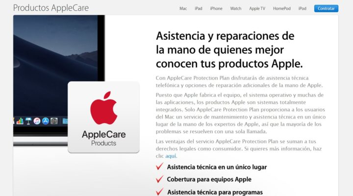 AppleCare + ya está en España