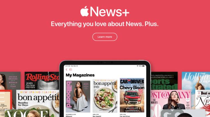 Apple presenta Apple News +