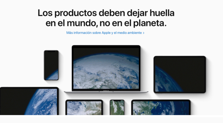 Apple también celebra el día mundial de la Tierra