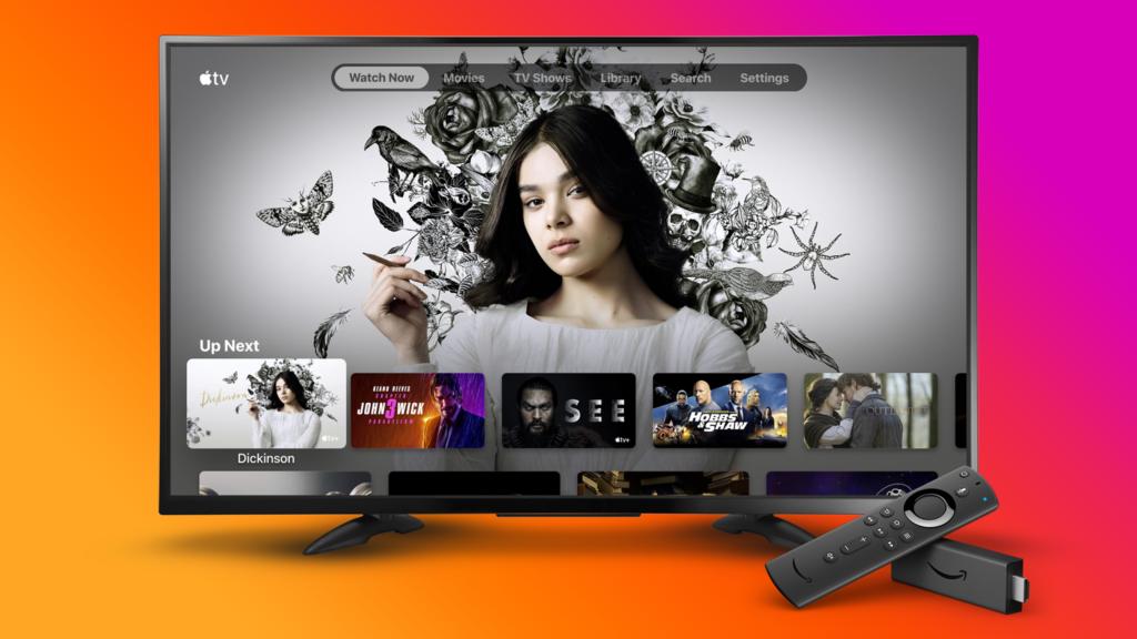App apple TV fire tv
