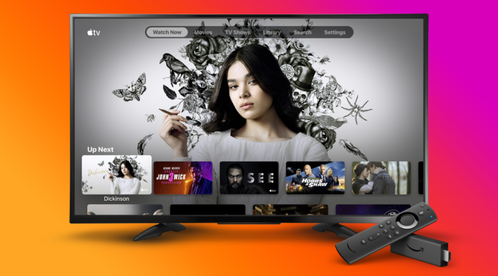 App apple TV fire tv