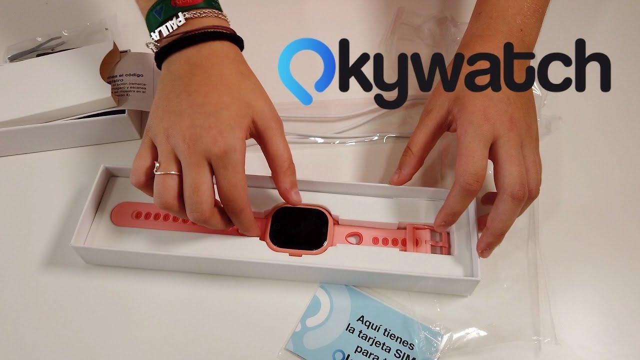OkyWatch - Reloj inteligente con GPS para los peques
